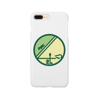 パ紋No.2960 きん Smartphone cases