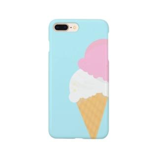 アイスだいすき Smartphone cases