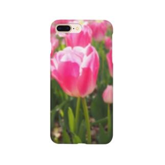 ぴかぴかチューリップ Smartphone cases