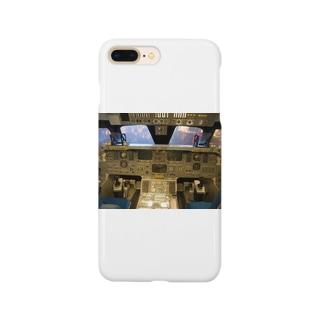 スペースシャトル コクピット Smartphone cases