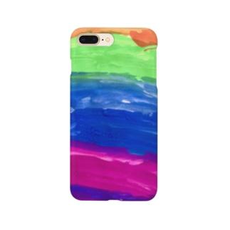 cion art shopのいろんなそら Smartphone cases