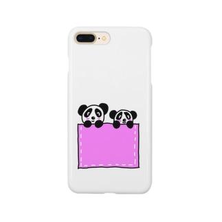 仲良し親子シリーズ(パンダさん) Smartphone cases