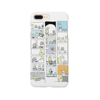 うさぎかあさんとねこの子 Smartphone cases