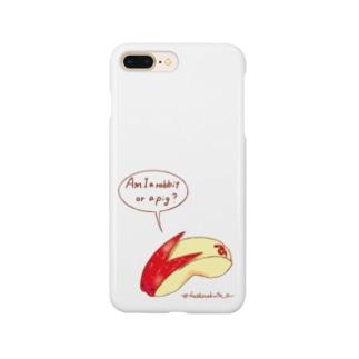うさぎりんご Smartphone cases