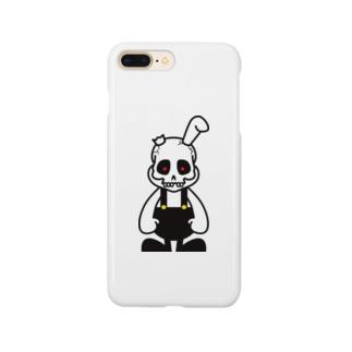 骨うさぎ Smartphone cases