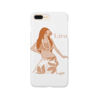 Hulagirl Lira (Orange ver.) Smartphone cases