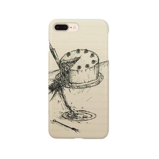 バースデーケーキ Smartphone cases