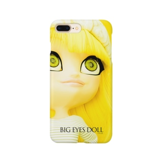 BIG EYES DOLL yellow Smartphone cases