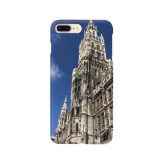世界の風景:Marienplatz  Smartphone cases