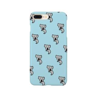 恥ずかしがりコアラ Smartphone cases