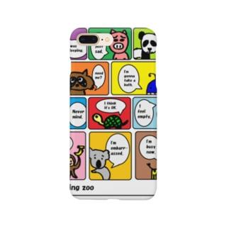 つぶやく動物園 Smartphone cases
