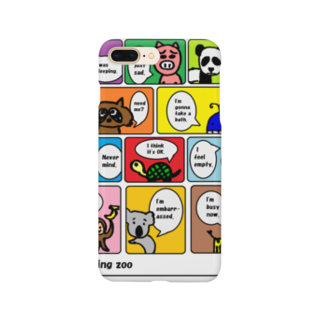 decoppaのつぶやく動物園 Smartphone cases