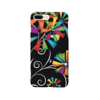 CrA bwcl' 花風車✲🎨 Smartphone cases