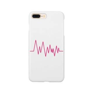 ___ぎざぎざiPhoneケース___ Smartphone cases