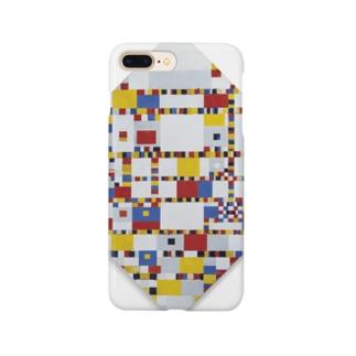 ピート・モンドリアン《勝利のブギウギ》 Smartphone cases
