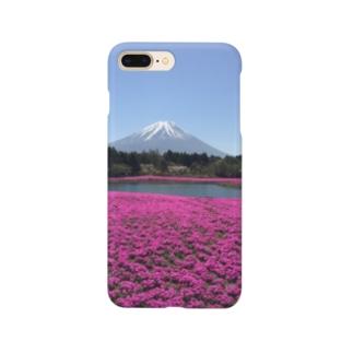 富士芝桜 Smartphone cases