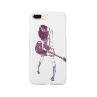 ギターガール013 Smartphone cases