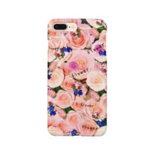 flowerビーム Smartphone cases