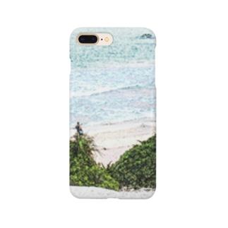 海と丘 Smartphone cases