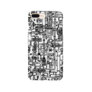 配管マニア Smartphone cases