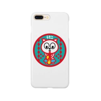パ紋No.2976 うさこ Smartphone cases