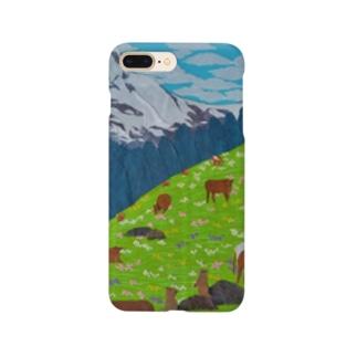 アルプスの牧場 Smartphone cases