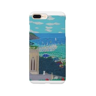 Junie貼り絵グッズのニューカレドニアFOLの丘 Smartphone cases