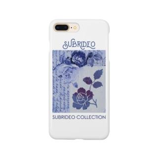 ブルーローズ Smartphone cases