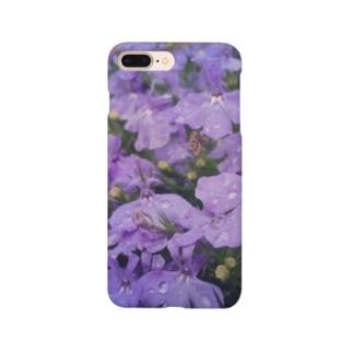 星の景色 朝露 Smartphone cases