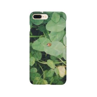 星の景色 てんとう虫 Smartphone cases