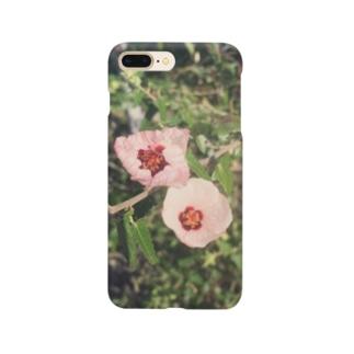 星の景色 小さい花 Smartphone cases
