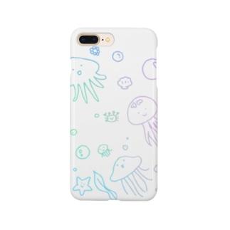 あちゃクラゲ-パステル Smartphone Case