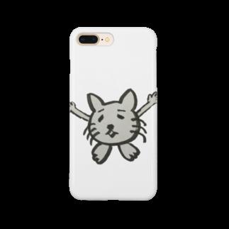Keeeigoのキモ猫 Smartphone cases