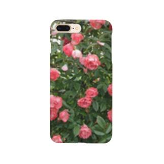 群れ薔薇 Smartphone cases