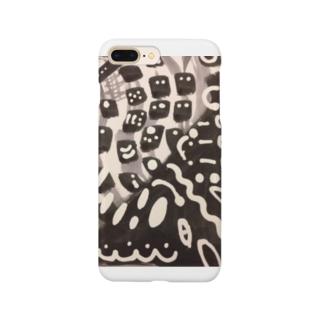 チョコレイト450銃士&Black色の焼き鳥屋🌟🔥🐔🔥🌟 Smartphone cases