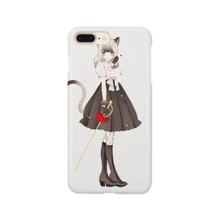 夢 咲 も このながぐつをはいた猫 Smartphone cases