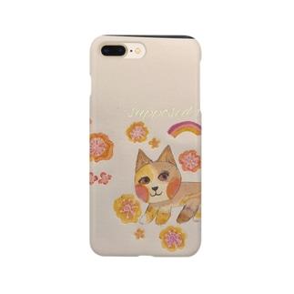 猫と、虹畑 Smartphone cases