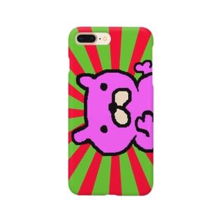 ピンクなたいちょーの盛り上がり Smartphone cases