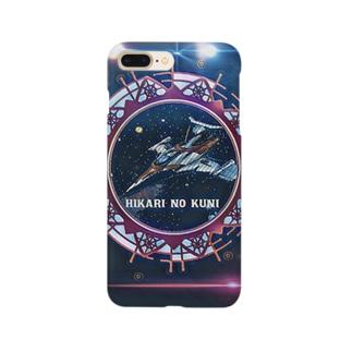 光ノ国船団ロゴ.通常ver Smartphone cases