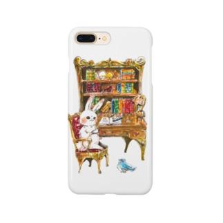 書斎の小さな主 Smartphone cases