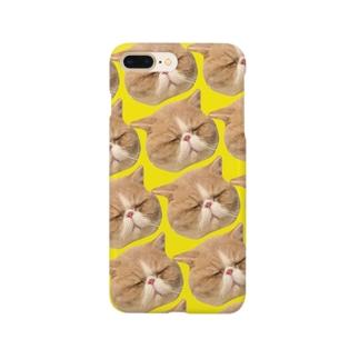 きいろのププだらけ Smartphone cases
