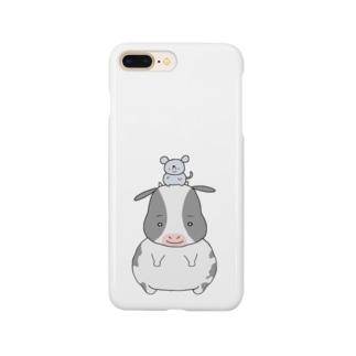 ネズミとウシ Smartphone Case