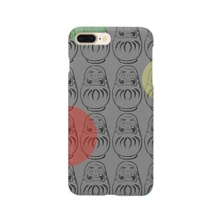 ヒゲダルマさんシャボン Smartphone cases