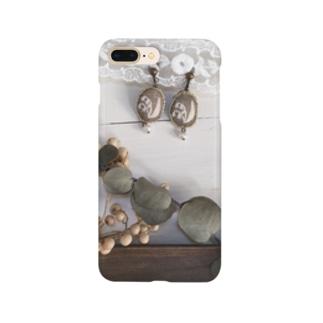 すずらんとラベンダー2 Smartphone cases