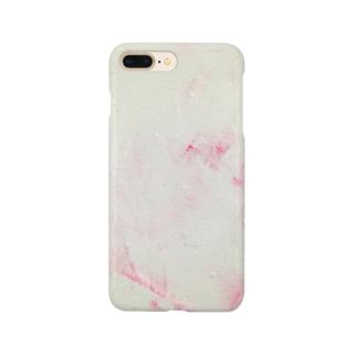 みどりとピンクのきもち Smartphone cases