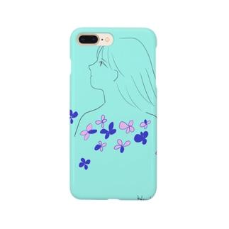 水色⛵ Smartphone cases