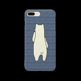 MIHA-HAのしろくまくん Smartphone cases