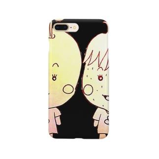 フルーツポンチ★りんご©&いちご© Smartphone cases