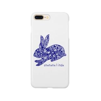 リンダうさぎ Smartphone cases