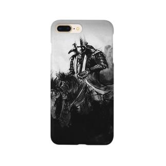 騎馬武者像 Smartphone cases